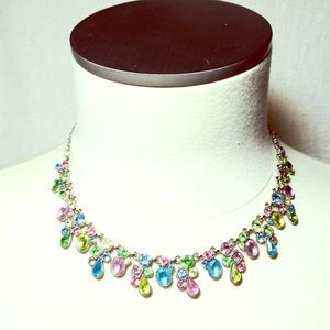 Gorgeous Multi Colored Stones in Pink and blue